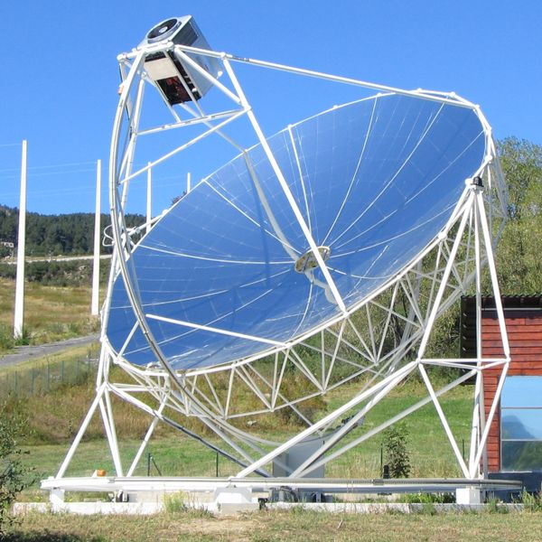 Dish Stirling del proyecto Eurodish