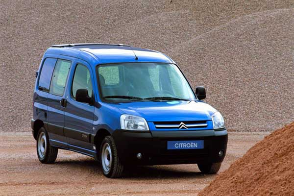 Citroën Berlingo Electric : restyling 2002-2007