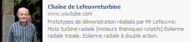 Jean Claude LEFEUVRE sur Youtube
