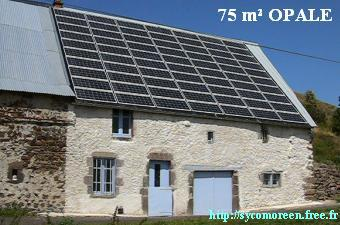 To go to the Sycomoreen's OPALE photovoltaic Dairy webpage