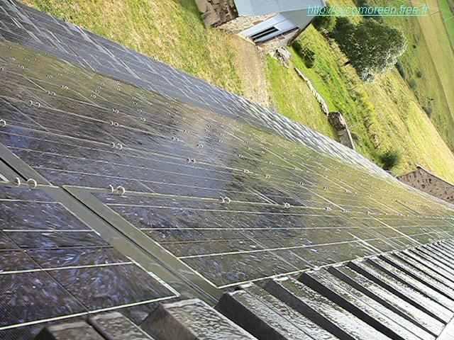 Ecoulement de liquide pour maximiser la production photovoltaïque / Flow of liquid to enhance the photovoltaic production